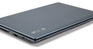 Ordinateur portable acer gris