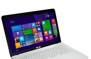 Ordinateur portable asus f751l