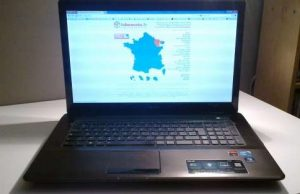 Ordinateur portable asus x72j