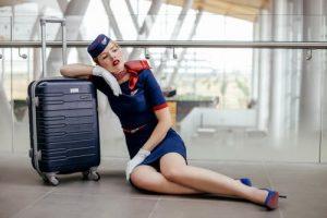 valise hôtesse